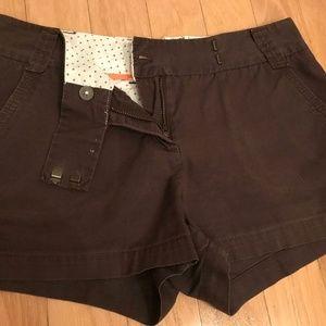 J. Crew Chino Shorts Size 4